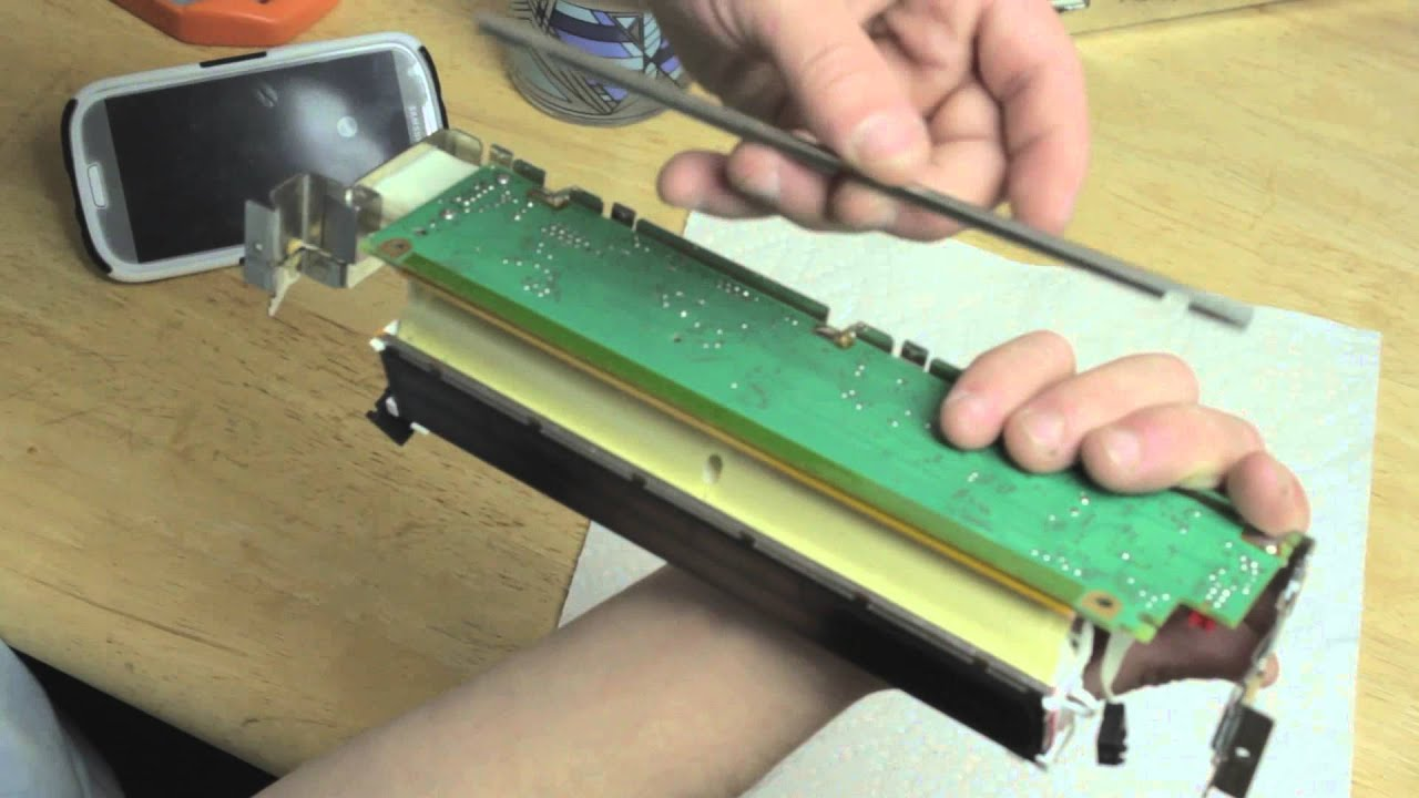Bmw x5 and 5 series e53 e39 radio screen lcd repair part 1 disassembly youtube