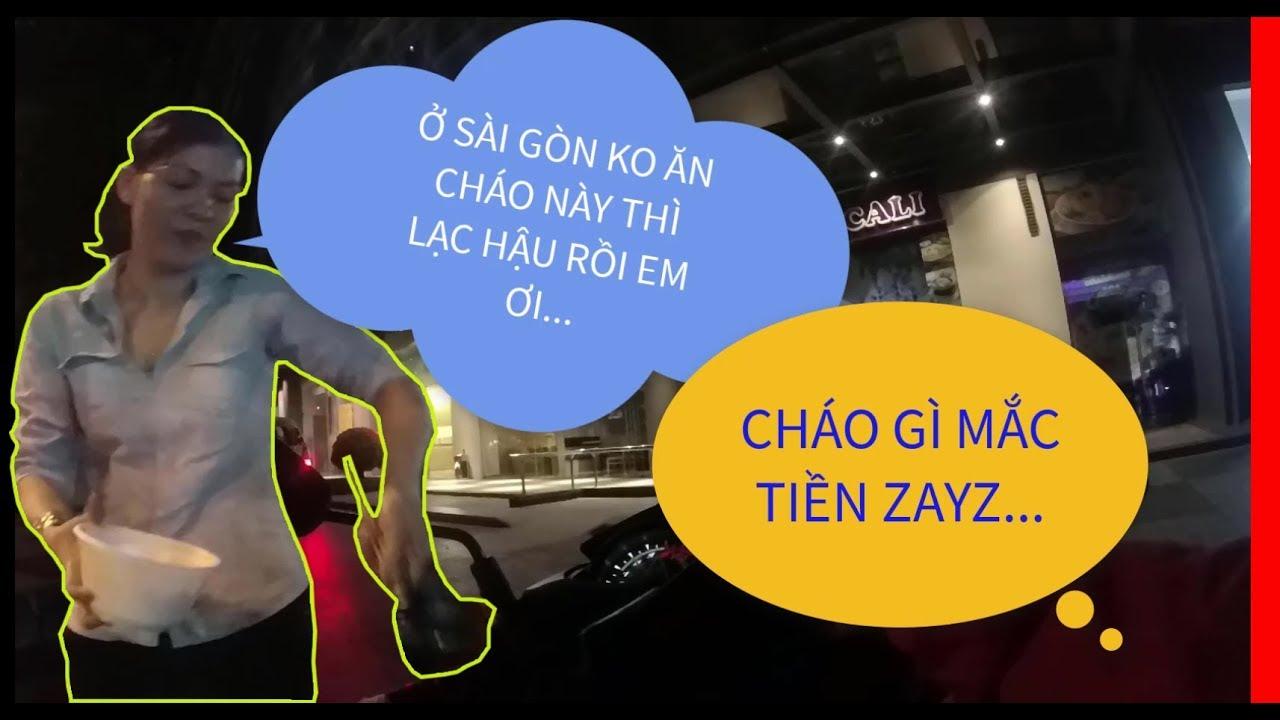Xe Ôm 24H    Khi Shipper Giao Tô Cháo Mắc Tiền Nhất Sài Gòn!