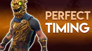PERFECT TIMING - Fortnite Battle Royale - Zekeisneat