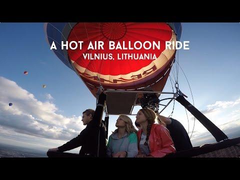 A Hot Air Balloon Ride in Vilnius, Lithuania
