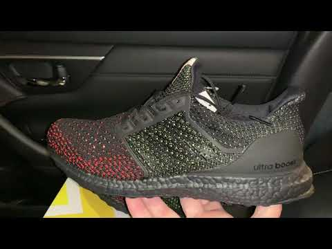 Adidas Ultra Boost Clima Core Black Solar Red shoes