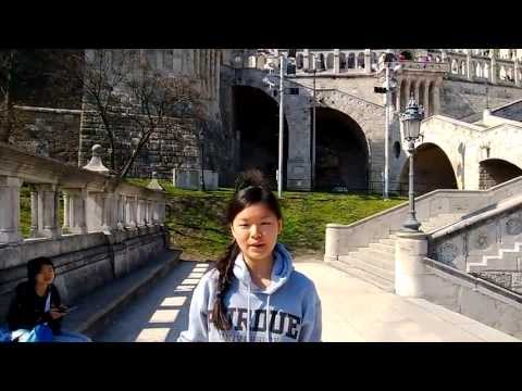 Purdue Krannert MBA Students Talk Affordability in Budapest, Hungary