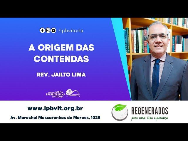 Rev. Jailto Lima - Tiago 4.1-10