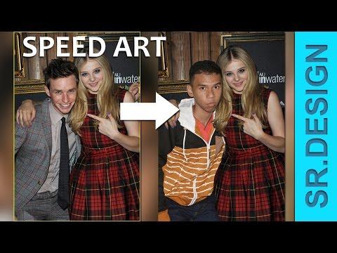 """Photoshop SPEED ART """"JOMBLO"""""""