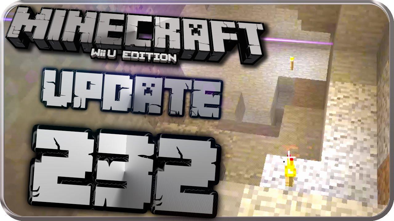 Lets Play MINECRAFT Wii U EDITION Part UPDATE Patch - Minecraft nutzliche spielerkopfe