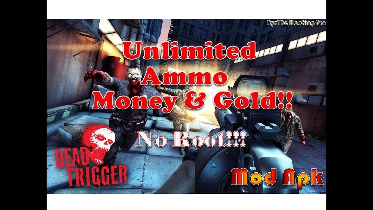 dead trigger 1 mod apk 1.3.3 unlimited money and gold