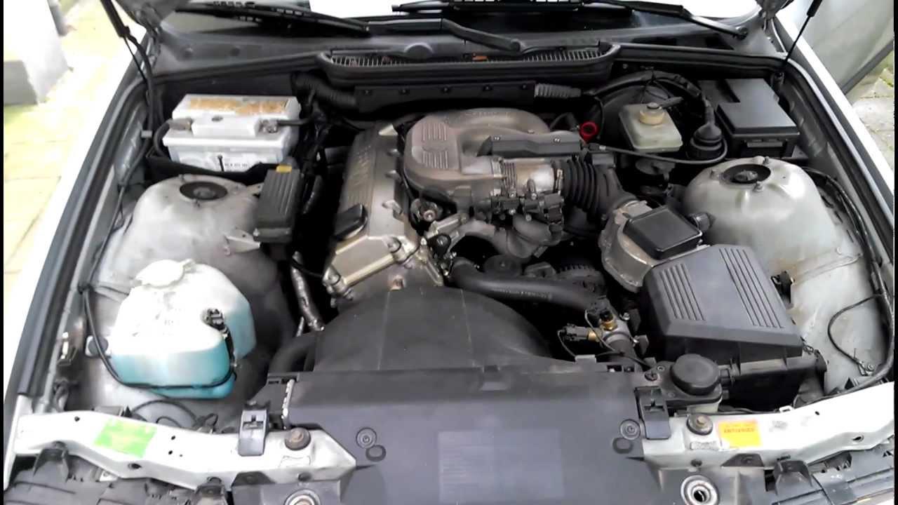 BMW e36 318i m43b18 starting PROBLEM  YouTube