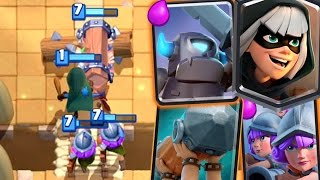 Clash Royale - THIS DECK OWNS! New Wild Deck