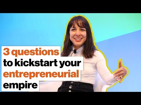 3 questions to kickstart your entrepreneurial empire | Miki Agrawal