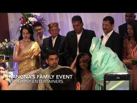 Kangana Ranaut's Brother Aksht's Ring Ceremony Event Done By Gypsy Entertainers Mp3