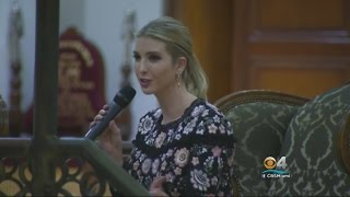 Ivanka Trump Makes South Florida Campaign Stops For Her Father