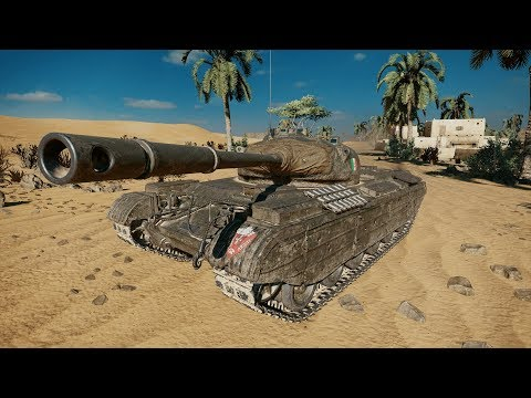 World Of Tanks Console [PS4 Pro]  Ariete Progetto M35 Mod. 46 Gameplay