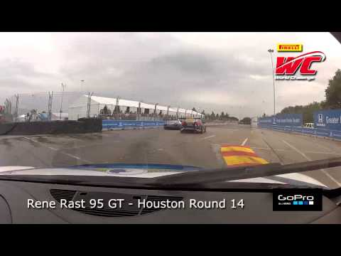 Houston 2013 - Rene Rast On Board in Round 14 GT