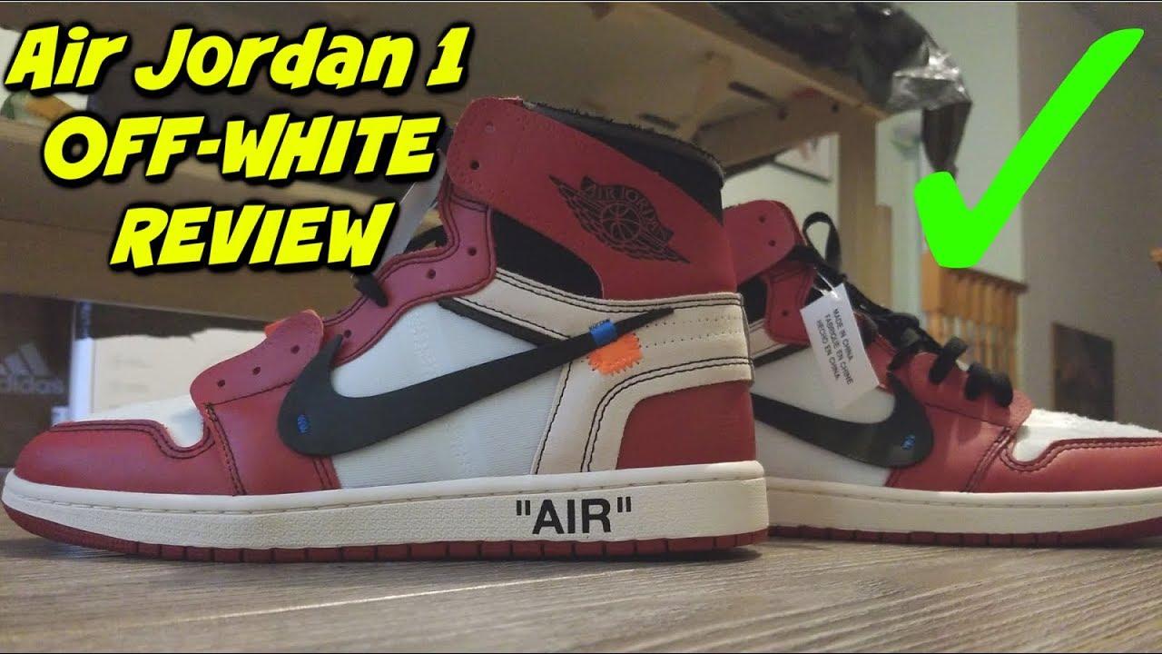 reliable quality get new hot sale online OFF-WHITE Air Jordan 1 Retro Chicago UA Replica Review 👟