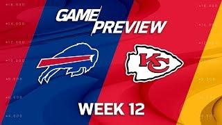 Buffalo Bills vs. Kansas City Chiefs | NFL Week 12 Game Preview | Move the Sticks