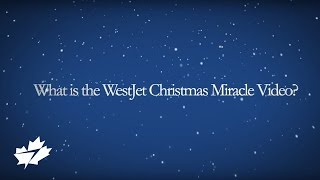 WestJet Christmas Miracle: Why?