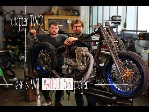 'Article 58' Sprint Bike Build Project - Chapter TWO