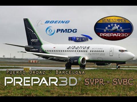 [P3Dv3.2] IVAO | PMDG 736 + Fs2Crew SVPR - SVBC (ESP/ENG)