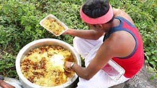 Raju Gari Kodi Pulao Recipe   రాజుగారి కోడి పలావ్   How to Make Raju Gari Kodi Pulao   Village Food