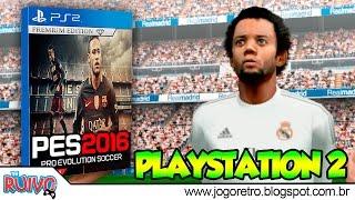 Pro Evolution Soccer 2016 (NEW PES 2016) no Playstation 2