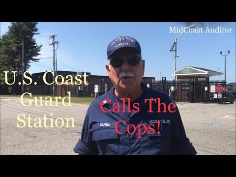 U.S. Coast Guard Station-Calls The Cops! First Amendment Audit