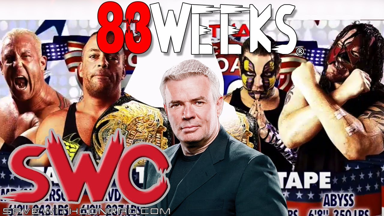 Eric Bischoff shoots on Rob Van Dam vs Abyss vs Jeff Hardy vs Mr Anderson