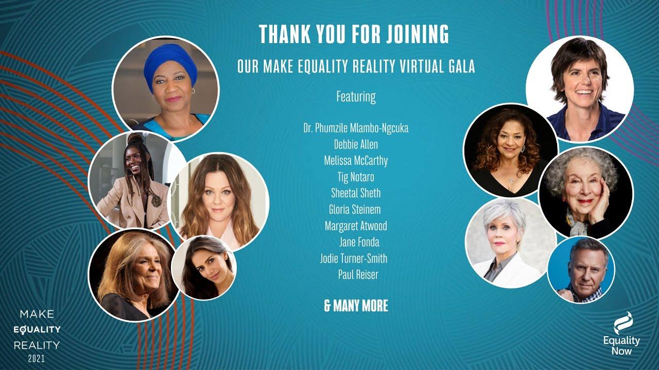 2021 Make Equality Reality Virtual Gala
