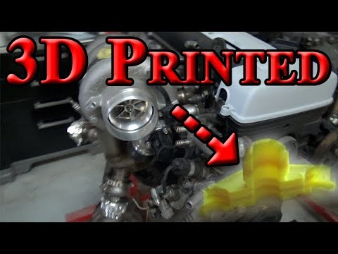 3D Printing Parts and Tearing the 2JZ Down