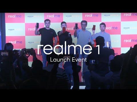 Realme 1 Launch Event