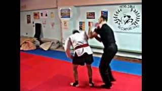 Обучение охранников / Рукопашный бой