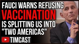 Fauci Warns Refusing Vaccination Splitting US Into Two Countries, Judge Sentences Men To Vaccination