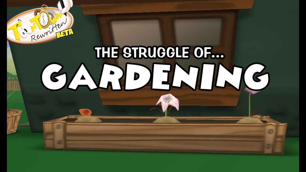 Toontown Rewritten- Gardening - YouTube