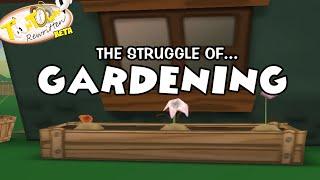 Toontown Rewritten- Gardening