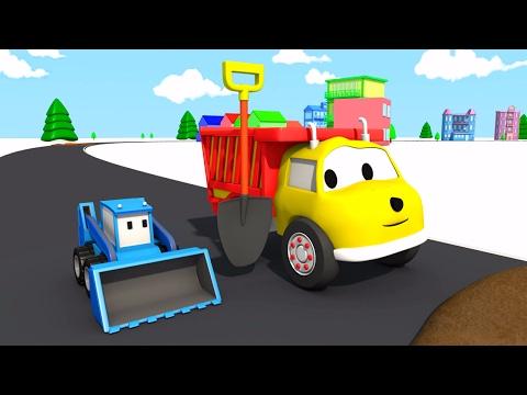 Грязь на дороге: учим цвета вместе с грузовичком Игорем | Развивающий мультик для детей