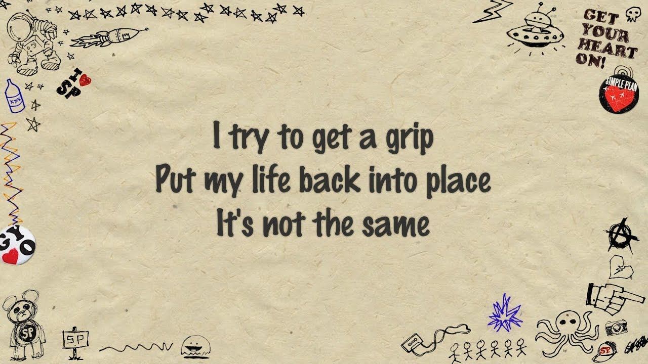 Simple Plan Never Should Have Let You Go Lyrics Youtube