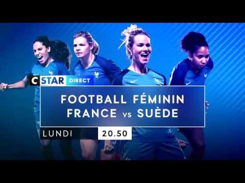 Bande Annonce- Football Féminin - France / Suède