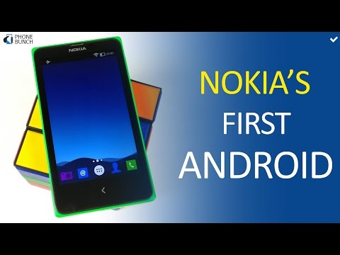 This was the first Nokia Android Smartphone