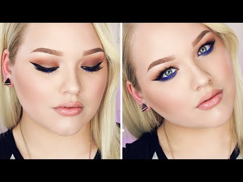 Sultry Winged Eyes with a Pop of Blue! ∙ Tutorial Inspired by Shaaanxo