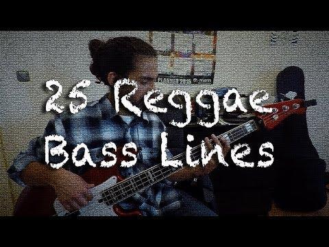 25 reggae bass lines medley youtube. Black Bedroom Furniture Sets. Home Design Ideas