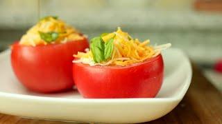 토마토에 계란을 넣어보세요 #37#아침요리