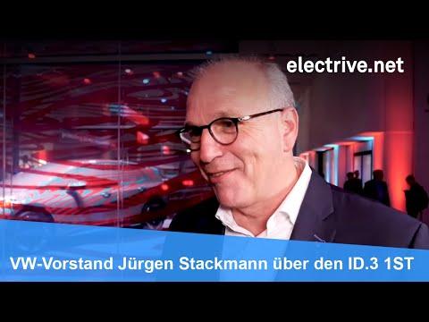 VW-Vorstand Jürgen Stackmann über Den ID.3 1ST