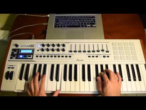 Oliver Heldens & Throttle - Waiting (Tuto Piano)