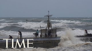 Footage Of Super Typhoon Mangkhut As It Approaches Northeastern Philippines | LIVE | TIME