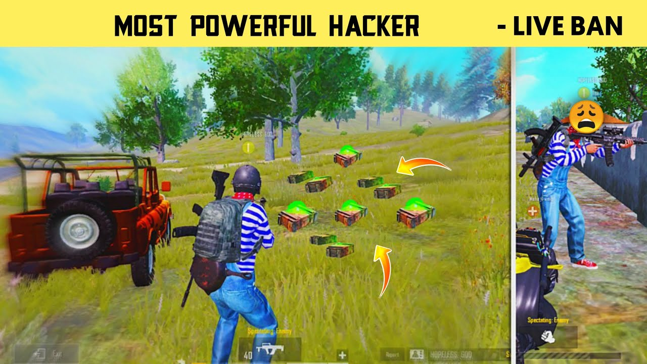 ?Most Powerful Hacker In Pubg Mobile - Live Banned Conqueror Hacks - Legend X