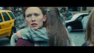 Начало эпидемии.   Война миров Z (2013)   Момент из фильма.