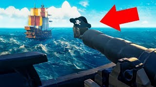 LAUNCHING MY FRIEND FROM A CANNON! (Sea of Thieves)