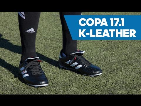 size 40 d55b4 f283f adidas Copa 17.1 FG Soccer Cleats on Feet Video