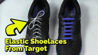 No Tie Elastic Shoelaces from Target