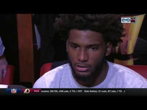 Justise Winslow -- Miami Heat vs. San Antonio Spurs 10/30/2016
