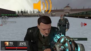 Gmod: Auschwitz Role Play - I ASSASSINATED HITLER!!!
